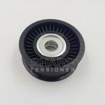 AJ813564,AJ8 13564 Belt idler pulley Fits for Jaguar F-type, XK, XKR
