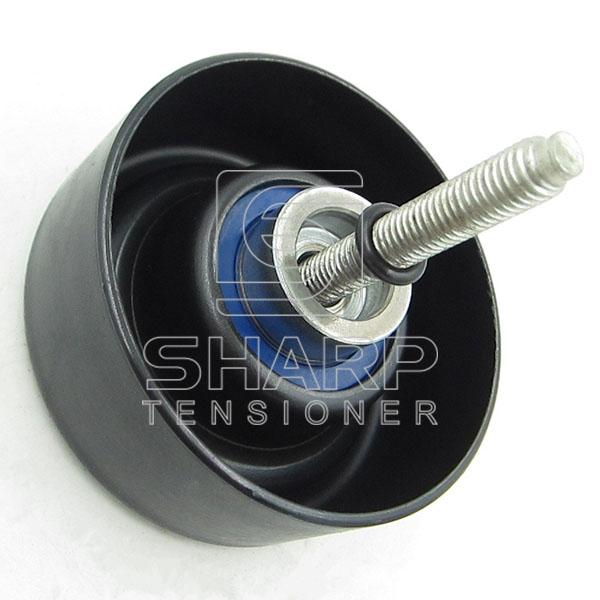 FO016 FORD 1S7Q19A216 1119938  1135627 1374385 1S7Q19A216AD 1S7Q19A216AB   AC Guide Pulley, v-ribbed belt (2)