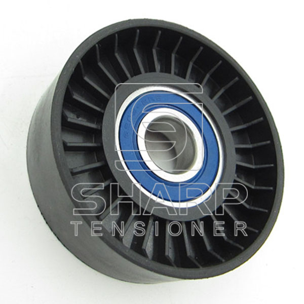 SBT-PE008 PEUGEOT BELT TENSIOENR PULLEY 575160    96366405 9636640580 (2)