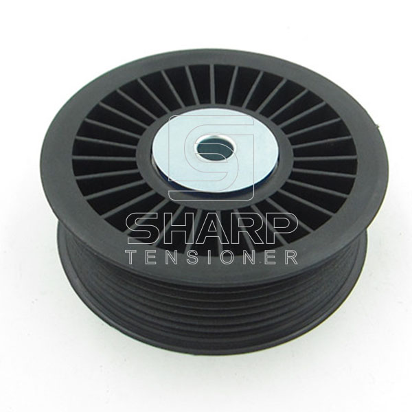 SBT-T9007 SCANIA TRUCK TENSIONER PULLEY 1514087 1413609 1428941    (3)