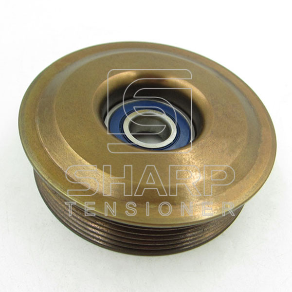 FO058P FORD 1077689  1004475 96MF6A228AC 96MF6A228AD Tensioner Pulley, v-ribbed belt (1)