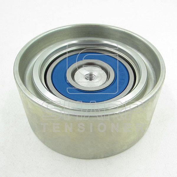 Ford BF6A19W629A F87A6A228AA Tensioner pulley,V-ribbed belt
