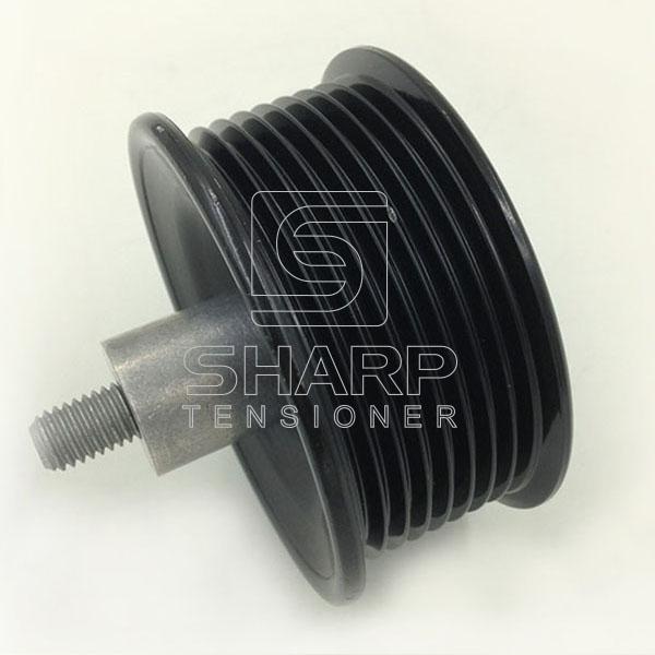 JCB spare parts , belt tensioner pulley 320-08564 (4)