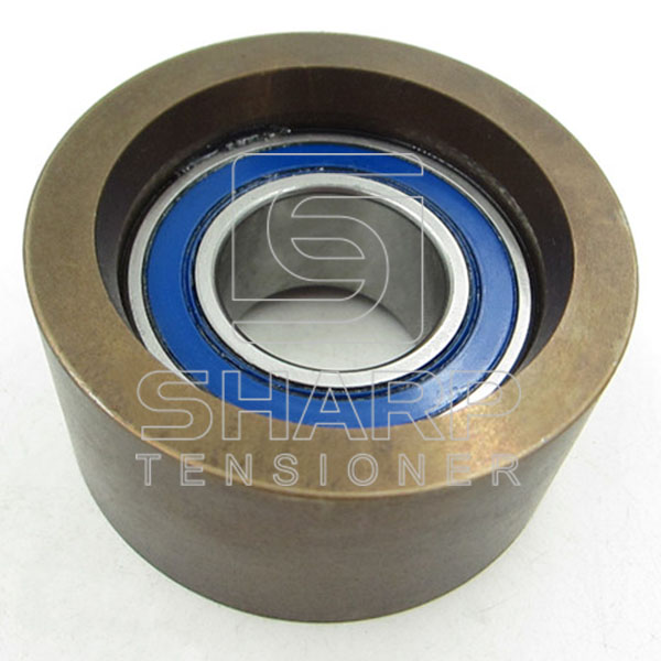 Mercedes-Benz 4572003270  4572002770  Truck tensioner pulley,V-Rribbed belt