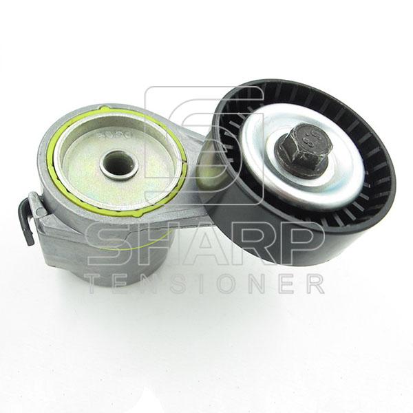 Opel 90412884  1206990 Tensioner Pulley, v-ribbed belt (1)