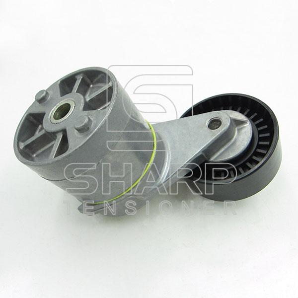 Opel 90412884  1206990 Tensioner Pulley, v-ribbed belt