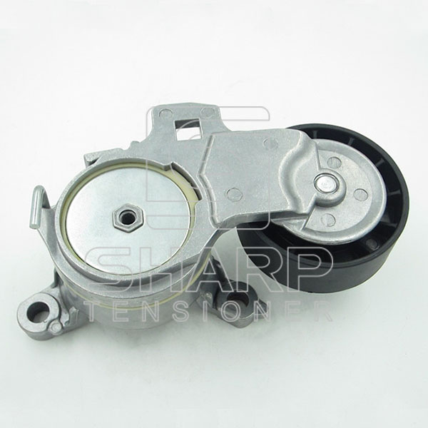 PE018 PEUGEOT 9663566180 Belt Tensioner, v-ribbed belt (1)