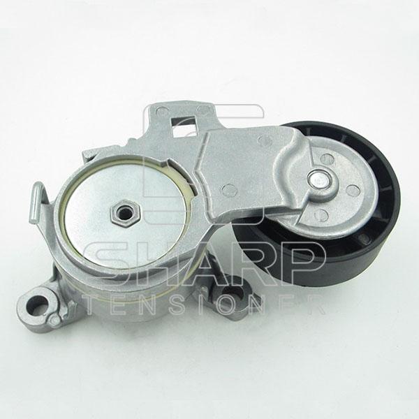 PE018 PEUGEOT 9663566180 Belt Tensioner, v-ribbed belt (1)