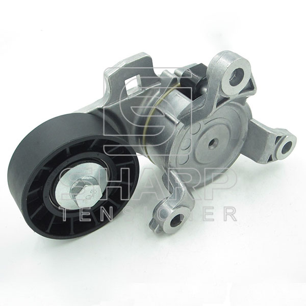 PE018 PEUGEOT 9663566180 Belt Tensioner, v-ribbed belt (2)