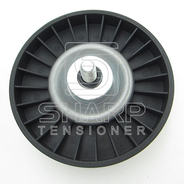 Fiat 46547566  7763647  60813721 60814912 60814917 Guide Pulley, v-ribbed belt (1)