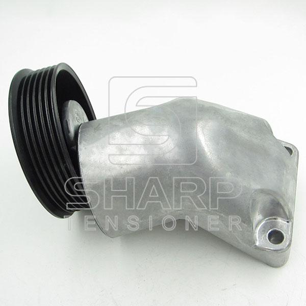 Ford 96MF6A228BD  96MF6A228AB  Belt Tensioner, v-ribbed belt (1)