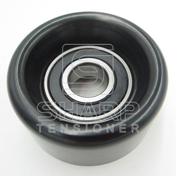 HYUNDAI 2528125000 Tensioner Pulley, v-ribbed belt (1)