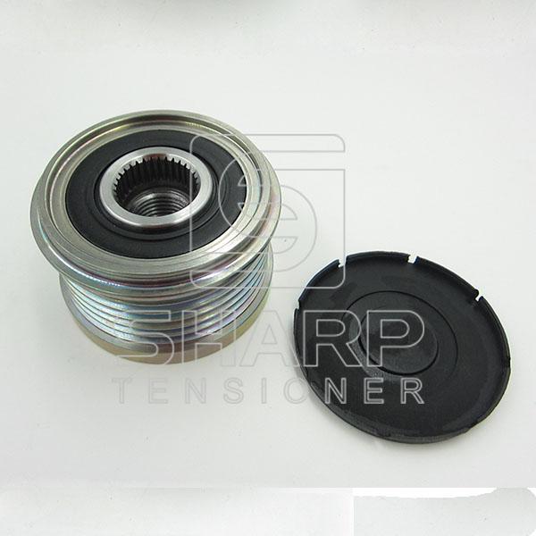 IVECO 504088796 574087 Freewheel Clutch, alternator (2)