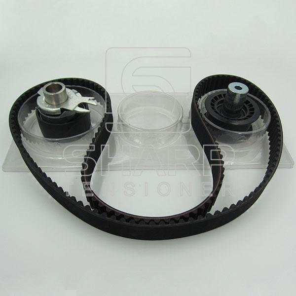 VW  FEBI 23530 INA  F555059  CONTITECH  CT907K1   GOODYEAR K1G1283H   Timing belt kit (2)