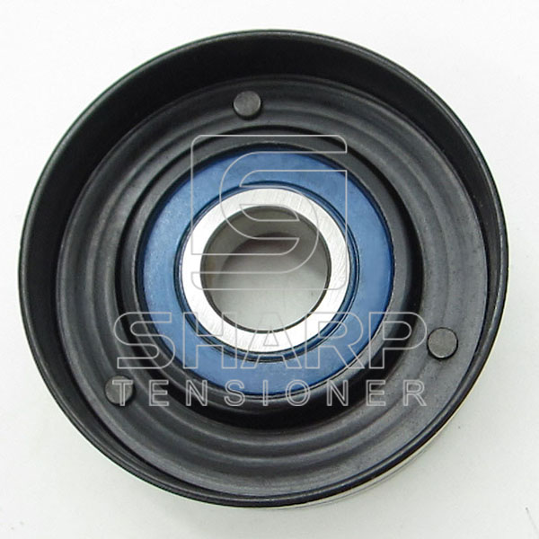 F0NN8A618BB Ford Tractor Tensioner Pulley, v-ribbed belt