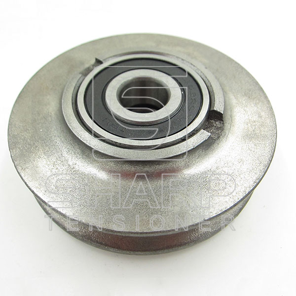 3138956R11 Case IH Tensioning pulley for compressed air system (2)