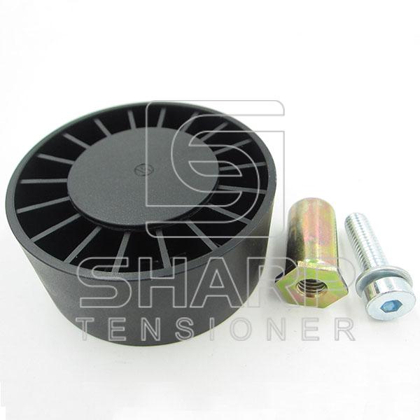 F716201040090 for Fendt  Tensioner Pulley, v-ribbed belt