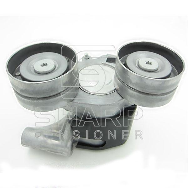 FB3Q6A228BA Ford belt tensioner,V-ribbed belt (1)