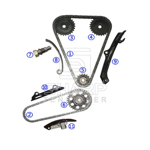 021109569 FOR VOLKSWAGEN Timing Chain Kit