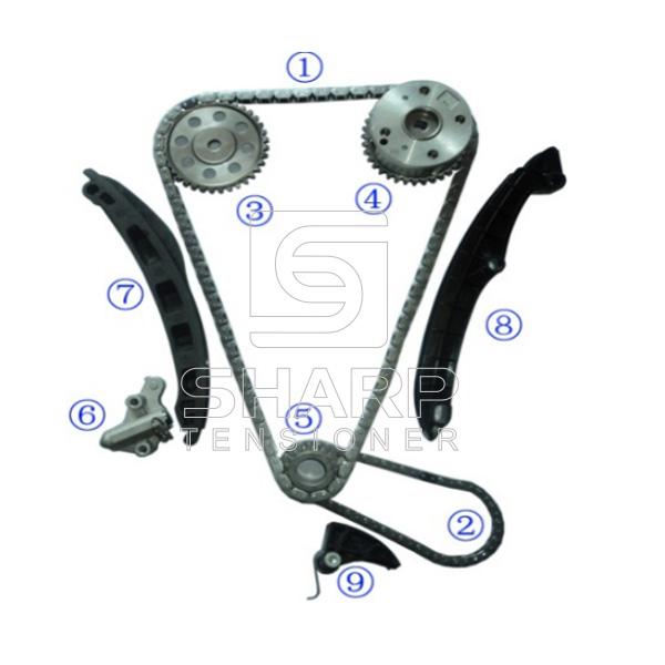 03C105209AG FOR VOLKSWAGEN Timing Chain Kit