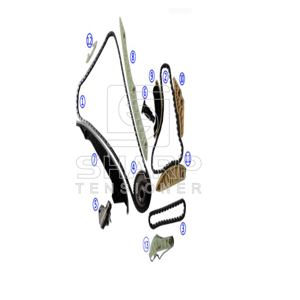 06H109158J FOR VOLKSWAGEN Timing Chain Kit