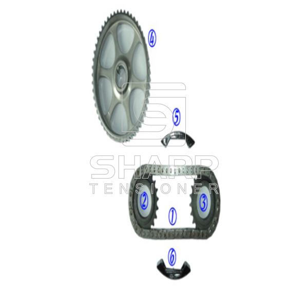 06d109229b FOR VOLKSWAGEN Timing Chain Kit