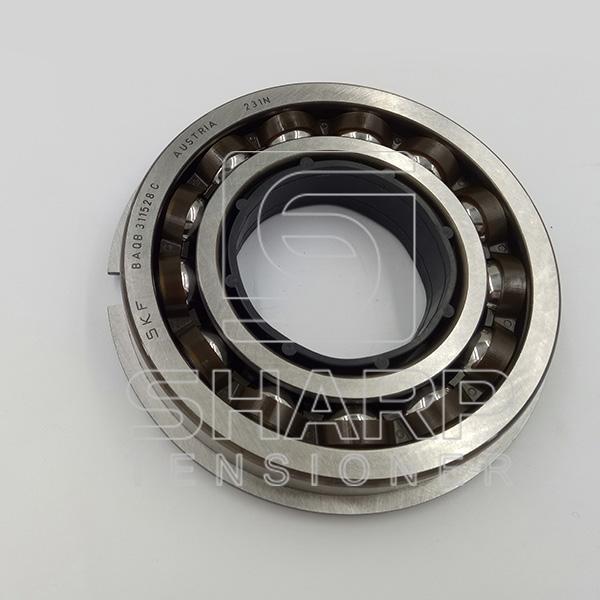 Ribbed Belt Pulley : Iveco tensioner pulley v ribbed belt