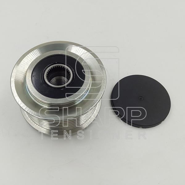 9061551515,9061550815 Mercedes-Benz Truck Tenisoner Pulley,V-Ribbed Belt